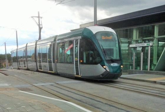 Nottingham Tram Station