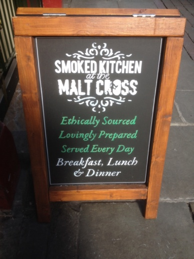 Malt Cross Chalkboard